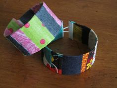 soda cans + scraps = unique jewelry