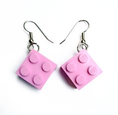 Lego Earrings