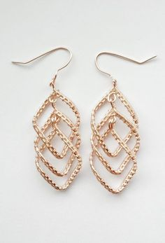 Cascading Diamond Earrings
