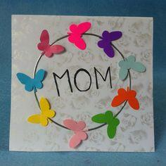 DIY Butterfly Mother's Day Card