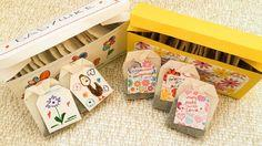 Gift tea box and tea tags