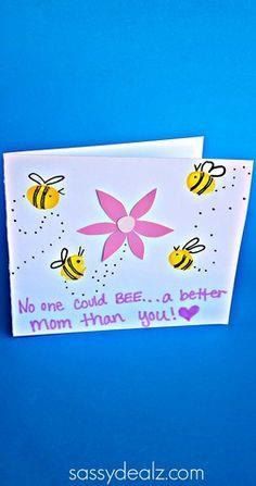 Fingerprint Bee Mother's Day