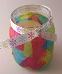 Mother's Day Candle Holder Craft