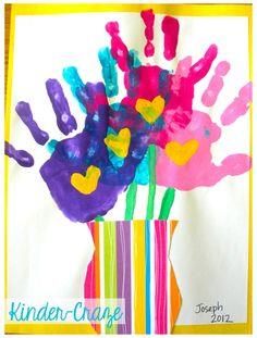 Mother's Day Handprint Bouquet
