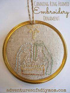 Embroidered Baby Ornament