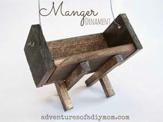 Make a Manger Ornament