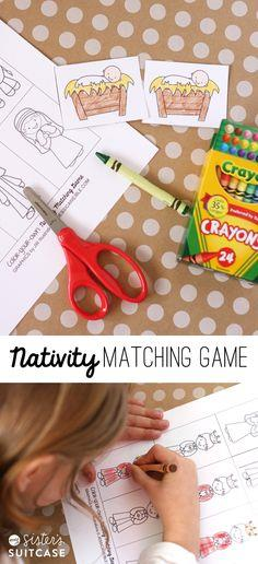 NATIVITY MATCHING GAME