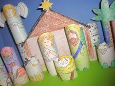 Printable Nativity for Kids