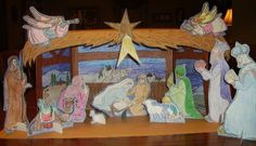 Nativity Stable Scene