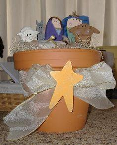 Wooden Spoon Nativity