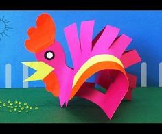 How to Make a Paper Hen