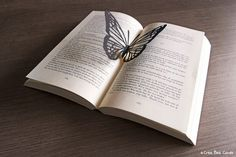 Butterfly pop-up book