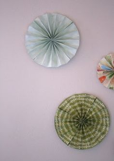 DIY Paper Wheel Art