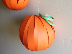 Pumpkin Lantern Craft