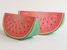 Paper Craft Watermelon
