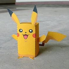 Pikachu Box Figure