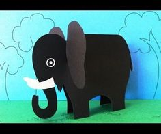 Paper Elephant Crafts