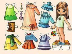 Paper doll printable