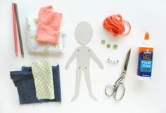 DIY Articulated Paper Dolls