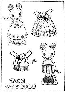 The MOUSIES Paper Doll