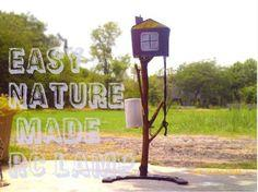 nature remote controlled lamp