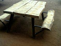 Raw Picnic Table tutorial