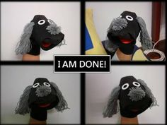 A SIMPLE SOCK PUPPET
