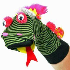 Funk Monster Sock Puppet