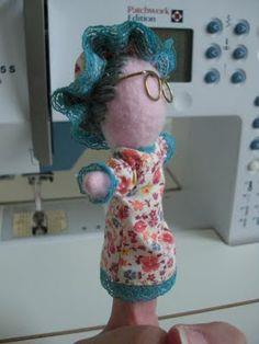 Finger Puppets: Red's Grandma