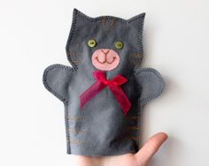cat puppet tutorial