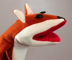 Make a Fox Puppet