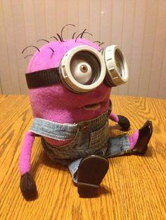 Purple Minion Puppet
