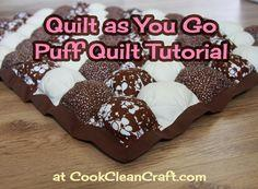 Quilt as You Go Puff