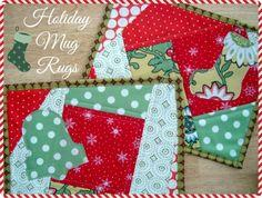 Holiday Mug Rugs
