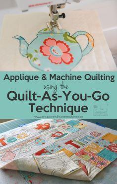 Quilt-As-You-Go Method