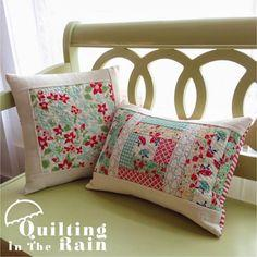 Quilt As You Go Pillows