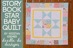 Story Book Star Baby Quilt