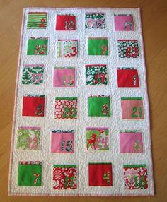 Quilted Advent Calendar Tutorial