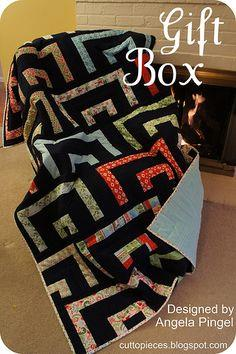 Gift Box Quilt Tutorial