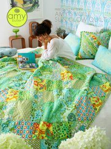 AMY'S VOILE SUN GLOW QUILT