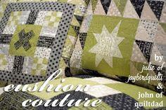 Cushion Couture quilt tutorial