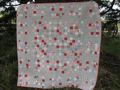 Dashes in the Woods - quilt tutorial