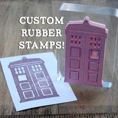 Create Custom Rubber Stamps
