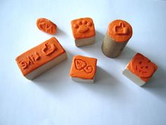 make stamps with Sugru