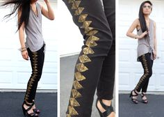 Stamped Geometric Jeans