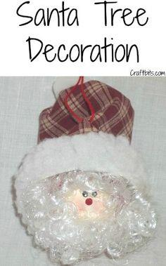 Whimsical Santa Christmas Ball