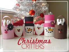 Christmas Treat Bucket Critters