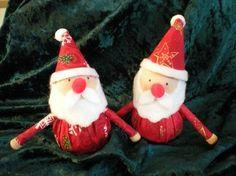 Christmas Santa ornament