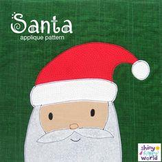 Free Santa Applique Pattern