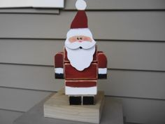 Wooden Santa Tutorial